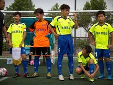 China streeft naar 50.000 voetbalacademies