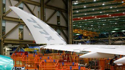 Romp Boeing 777X scheurt tijdens stresstest