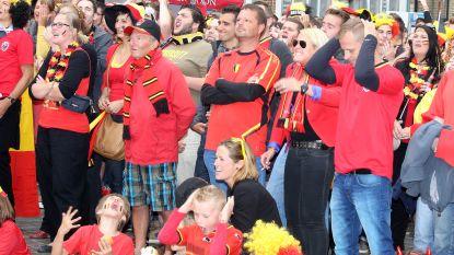 """Supportersdorp voor Rode Duivels onder vuur: """"Groot scherm moet je overlaten aan cafés"""""""