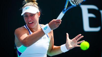 Yanina Wickmayer geeft op in achtste finales Newport Beach