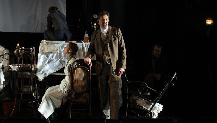 De Kersentuin door Maly Drama Theater in de Stadsschouwburg Amsterdam. Beeld Viktor Vassiliev