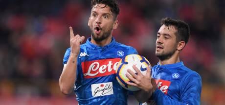 Naples termine sur une défaite, Mertens marque son 16e but
