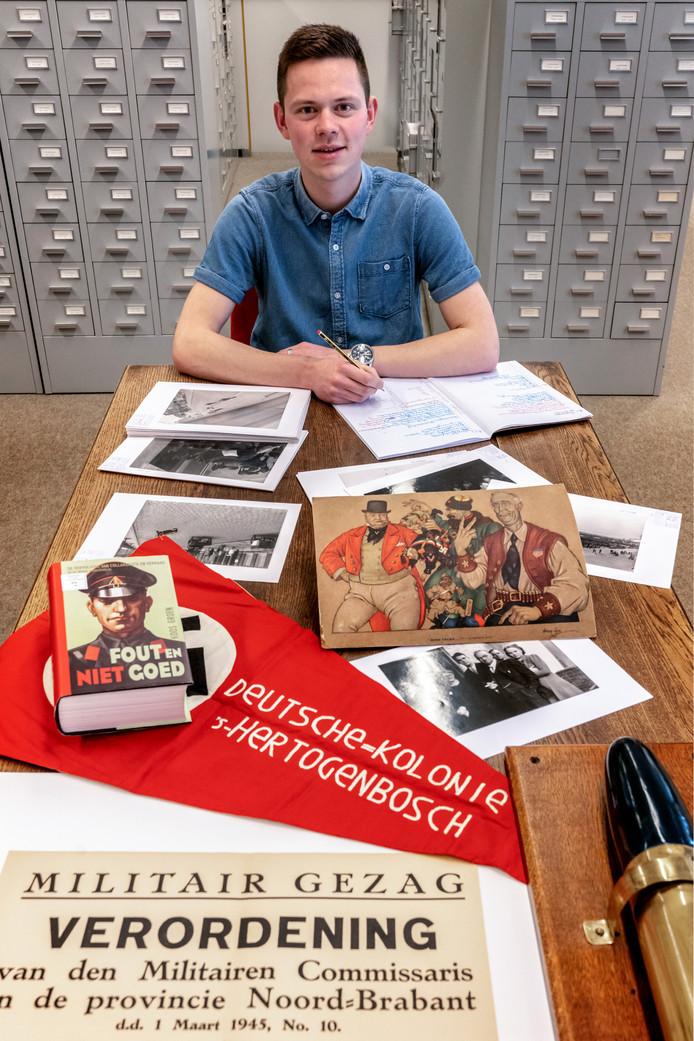 Mike van Venrooij presenteert zijn boek over Nuland in de oorlogsjaren.