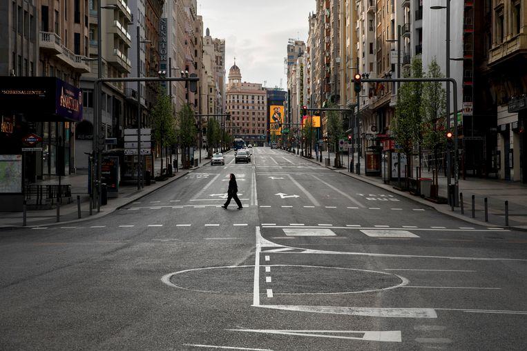 Madrid, Spanje. Beeld Getty