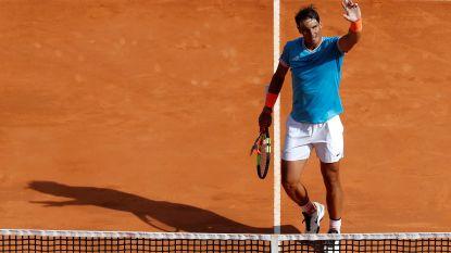 Nadal zet Dimitrov opzij in Monte Carlo - Djokovic verliest weinig tijd in achtste finale - Fognini verrast Zverev