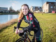 Shirin van Anrooij rijdt gouden race in Friesland