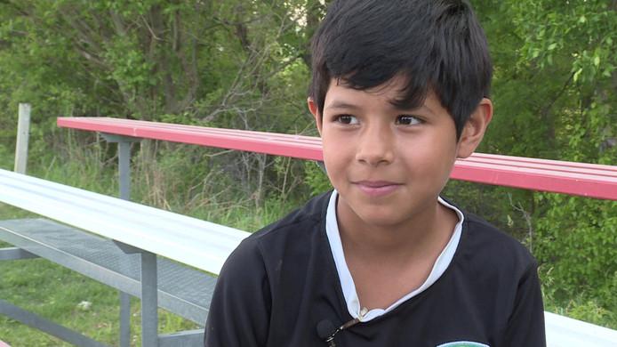 Mili Hernandez, de 8-jarige voetbalster die werd aangezien voor een jongen.