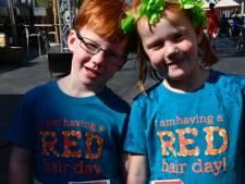 Tilburg kleurt rood: overal waar je kijkt rood haar en rode baarden