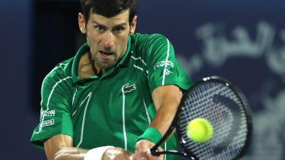 ATP en WTA bevriezen wereldranglijst, slecht nieuws voor Djokovic