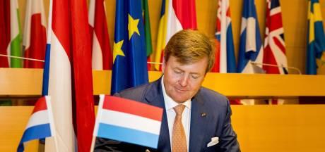 Koning: MH17 blijft open zenuw