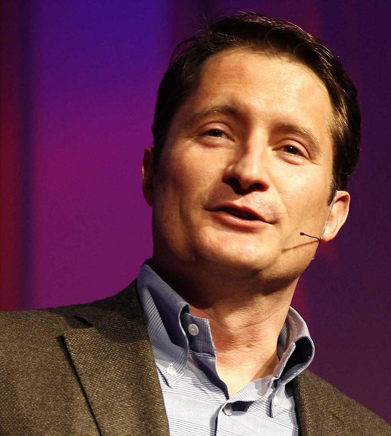 Bert Habets, CEO RTL. Beeld anp