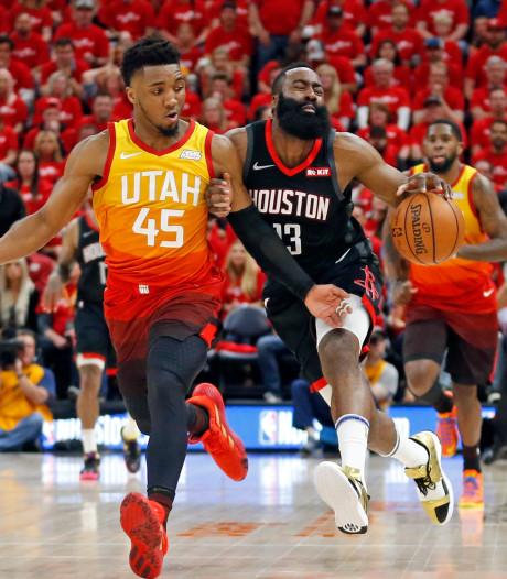 Bucks en Rockets winnen en kunnen tweede ronde NBA Playoffs ruiken