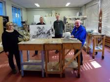 Bergse kunstenaars van Arsis zijn dolblij met hun nieuwe locatie