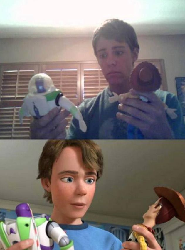 Andy uit 'Toy Story'
