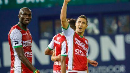 Zulte Waregem vindt aansluiting met top zes na twee goals in slotfase