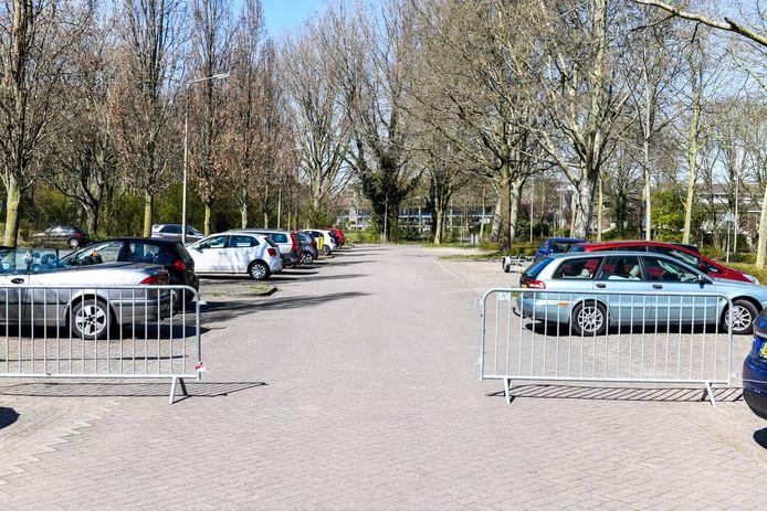 Parkeerplaats bij Zegersloot