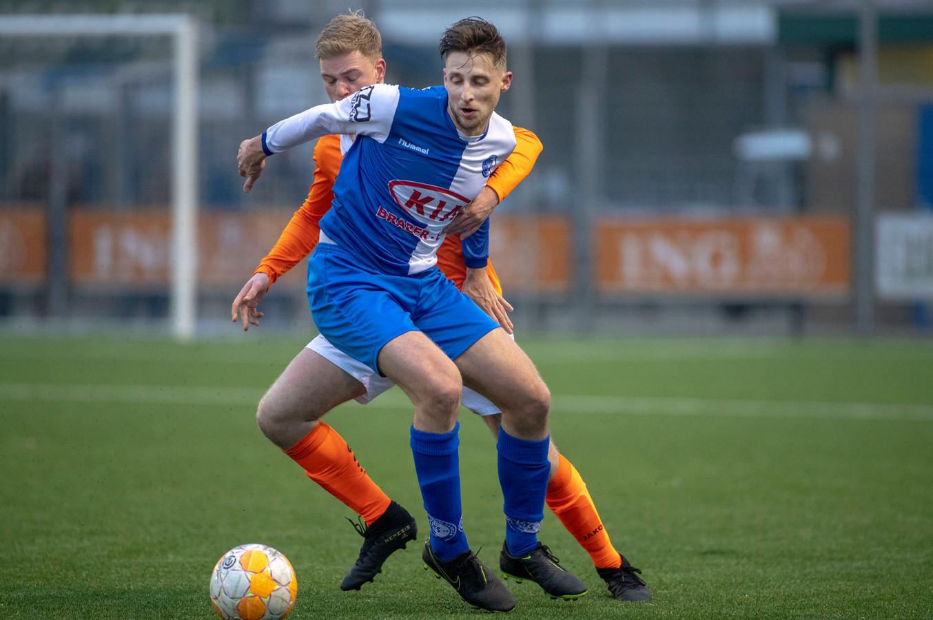 Remco Speelziek speelt volgend seizoen met DTS Ede in het KNVB-bekertoernooi.
