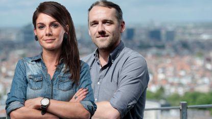 Fatma Taspinar en Xavier Taveirne versterken het 'Journaal Laat'