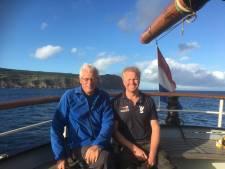 Scholieren en docenten 'gevangen' op zeilschip door corona: 'Dit is het meest vrije stukje Nederland'