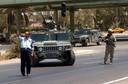 De militaire Humvee werd door de Amerikanen onder meer gebruikt tijdens de Golfoorlog in Irak