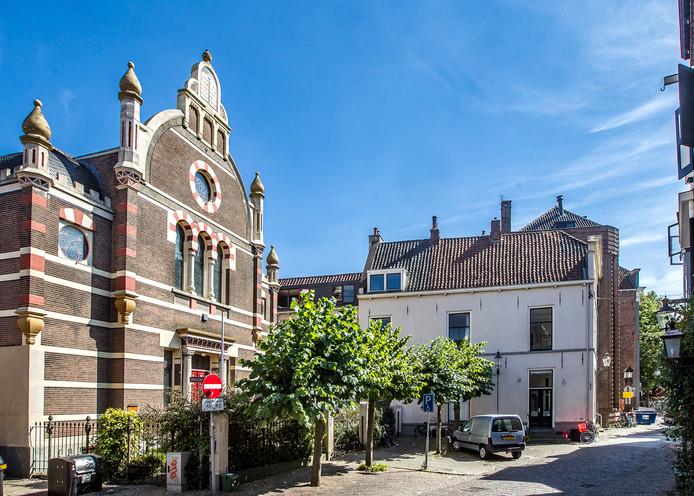 De synagoge in Deventer.