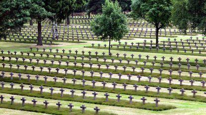 'Volkstrauertag' op Duits kerkhof
