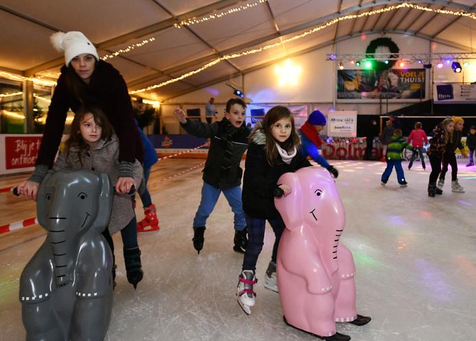 De ijsbaan in IJsselstein.