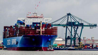 74 containerschepen doen Antwerpse haven niet aan