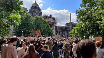 'Black Lives Matter'-betogers op straat in verschillende steden: rustig verloop, naar einde toe incidenten in Brussel en Antwerpen