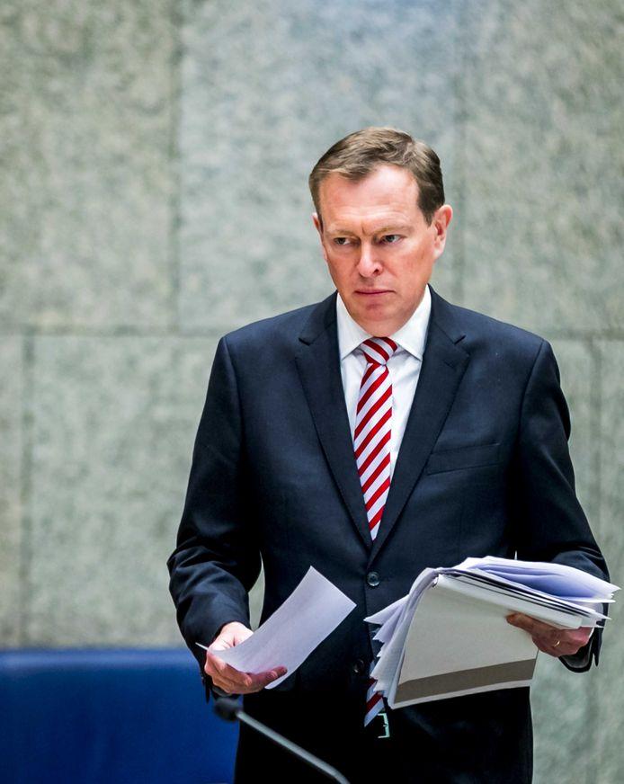 Minister Bruno Bruins.