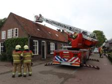 Omwonenden blussen schoorsteenbrand in Esch