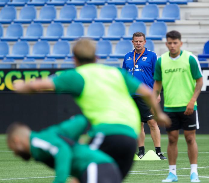 De training van PEC Zwolle is vrijdagochtend besloten.