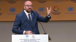 """Premier Michel verdedigt migratiepact in Marrakesh: """"Mijn land zal aan de goede kant van de geschiedenis staan"""""""