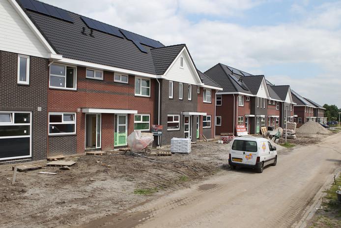 Een woningbouwproject in Olst. Foto ter illustratie.
