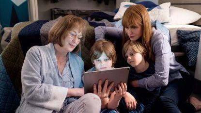 Unieke blik achter de schermen van 'Big Little Lies': Nicole Kidman en 'schoonmoeder' Meryl Streep samen op set