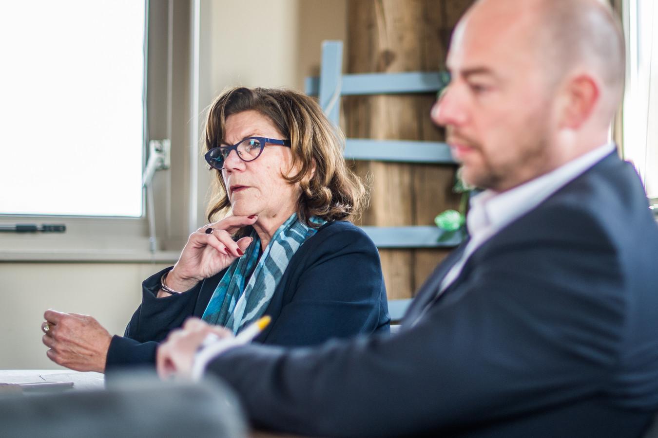 Bestuursleden Thea Holtman en Alex Hesse van de Albero Zorggroep hebben een eind gemaakt aan de winstuitkeringen voor aandeelhouders van het bedrijf.