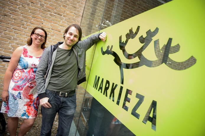 Margreet Diks-van Heumen (directeur van Markieza) en Paul Gelissen