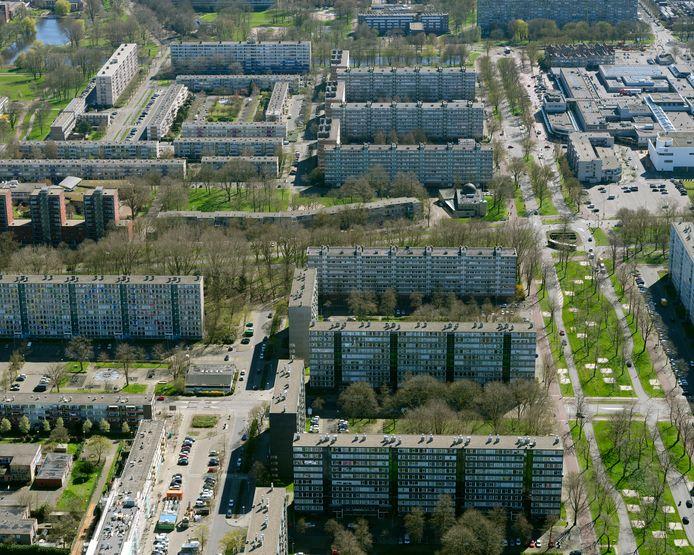 Flats in de Utrechtse wijk Overvecht.