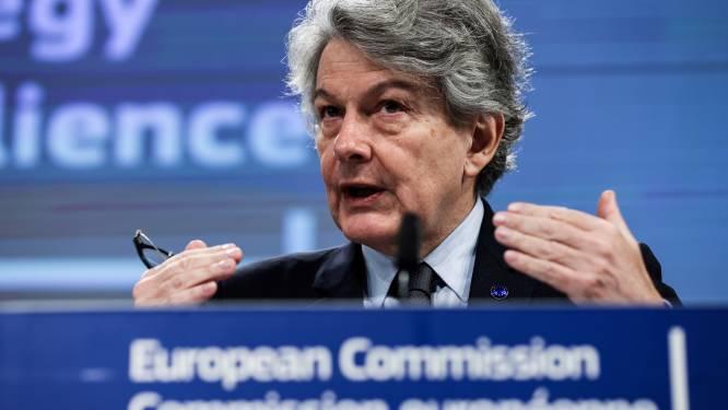 Europees commissaris zoekt samenwerking met Biden over regulering techbedrijven