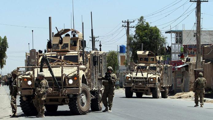 NAVO-militairen in Afghanistan, op archiefbeeld.