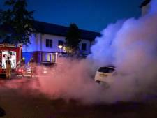 Ondanks controles politie en ME toch weer een autobrand in Arnhem