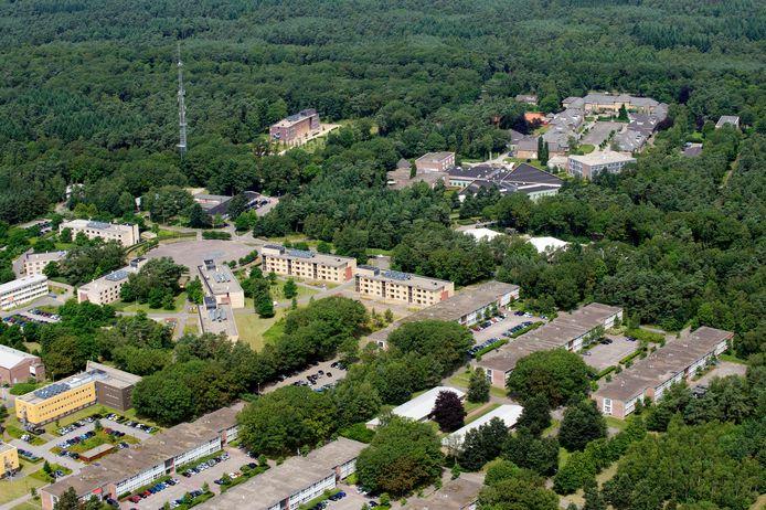 Op de Generaal Spoorkazerne in Ermelo verblijven honderden militairen.