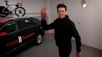 """Na vijf jaar Lotto snuift Benoot nieuwe lucht op bij Sunweb: """"Alles op de minuut gepland, indrukwekkend"""""""