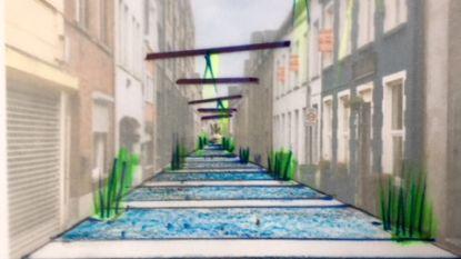 """Architect Marc Van Schuylenbergh: """"Zo zou de De Ridderstraat er kunnen uitzien"""""""