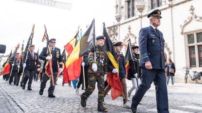 FOTOREPORTAGE - Vaderlandslievende verenigingen en stadsbestuur herdenken V-Dag