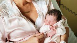 Actrice Kim Van Oncen bevallen van dochtertje