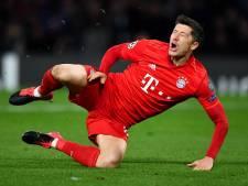 Bayern München weken zonder topscorer Lewandowski