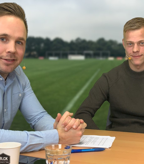 NAC-speler Van Hecke: 'Zonder Rogier Veenstra was ik nu geen profvoetballer'