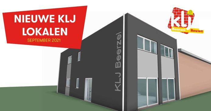 De nieuwe lokalen van KLJ Beerzel