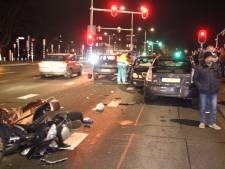 Vier jaar cel geëist tegen automobilist die na verkeersruzie op andere auto's en scooter inreed